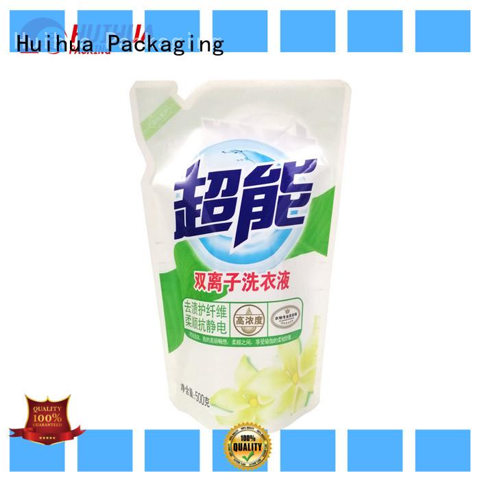 Huihua custom printed pouches manufacturer for liquid