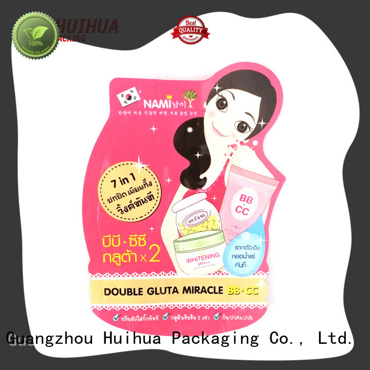 resealable custom printed pouches factory for snacks