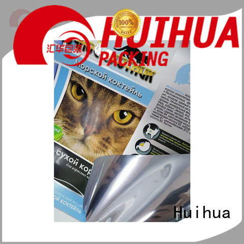 Huihua roll stock film manufacturer for plastic wrapping