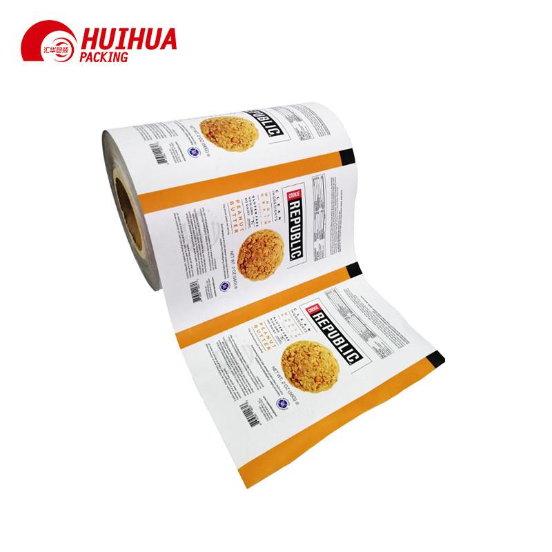 Custom Packaging Plastic Printed Rollstock Film