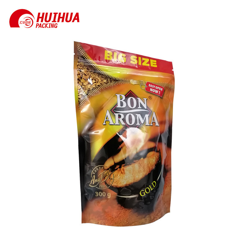 One Way Valve Resealable Doypack  Coffee Packaging Bag