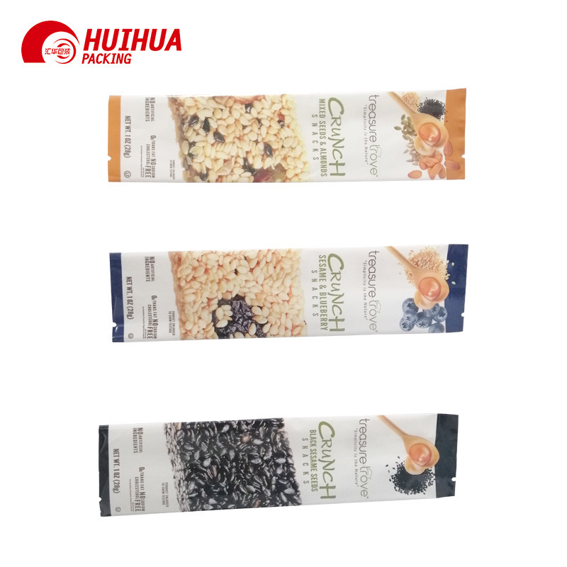 Middle Side Seal Packaging Bag for Snack Packaging