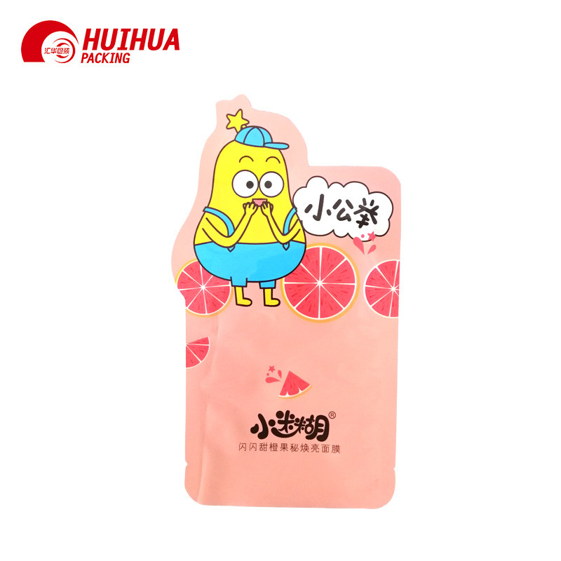 Attractive Free Shape Pouch Stand Up Zipper Bag