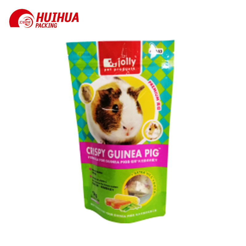Resealable Doypack  For PET Food Packaging