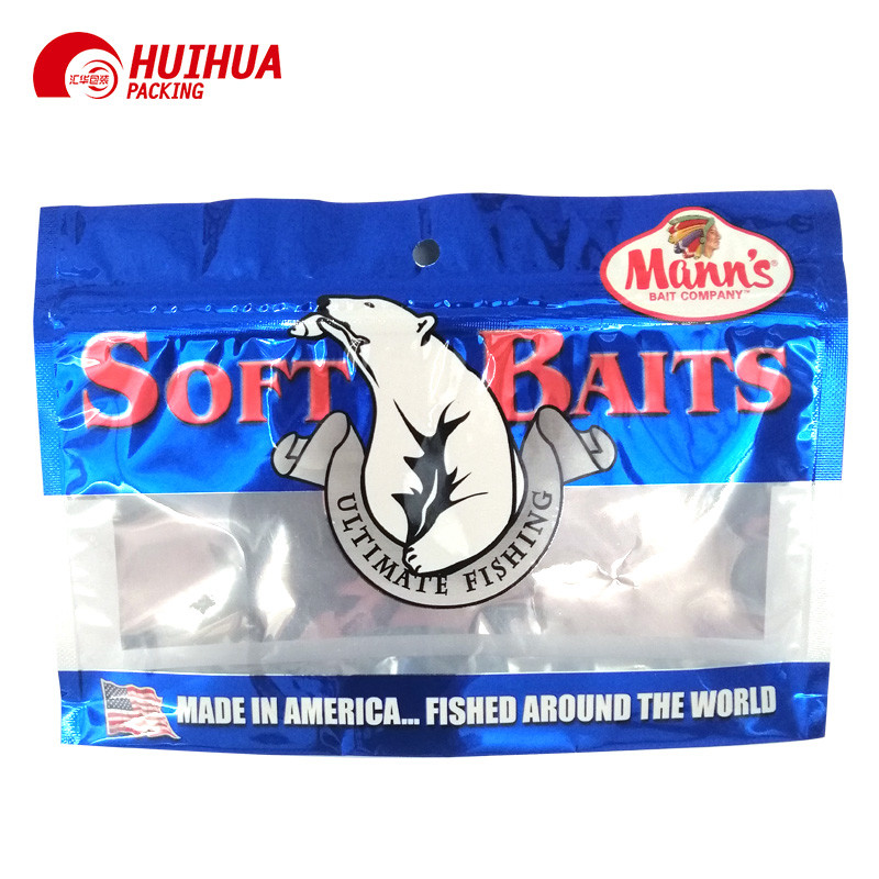 Doypack Stand Up Pouches Resealable For Food Packaging