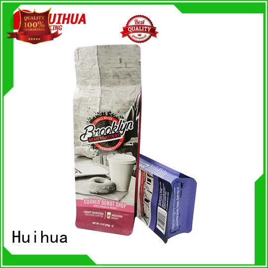 Huihua coffee packaging bag wholesale for green coffee beans