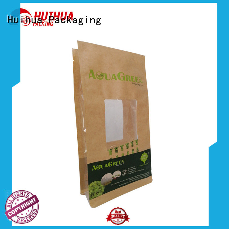 Huihua kraft paper pouch with good price for biscuits