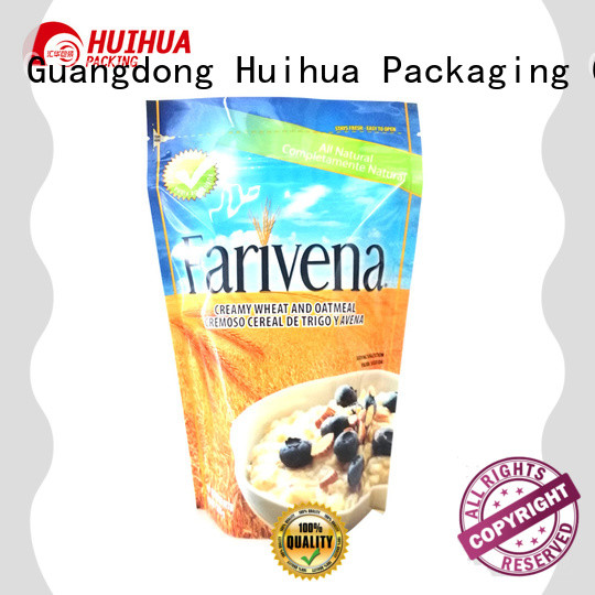 Huihua reliable stand up pouch packaging directly sale for food
