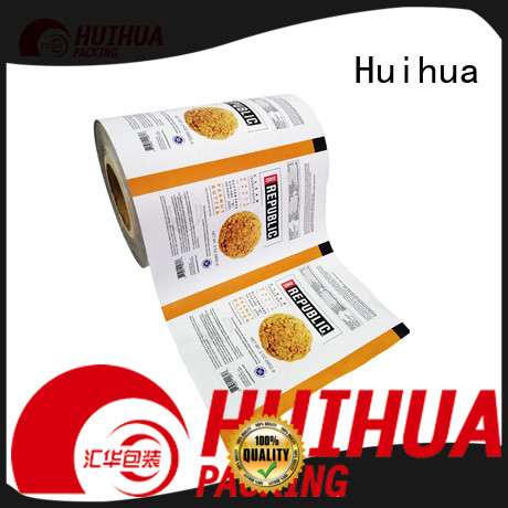 Huihua moisture proof roll stock film manufacturer for plastic wrapping