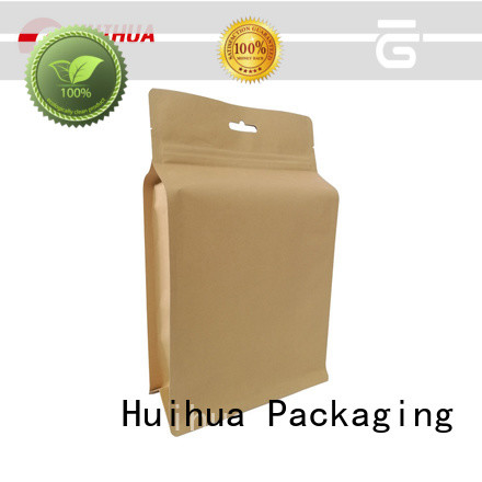 Huihua reliable kraft paper pouch customized for food