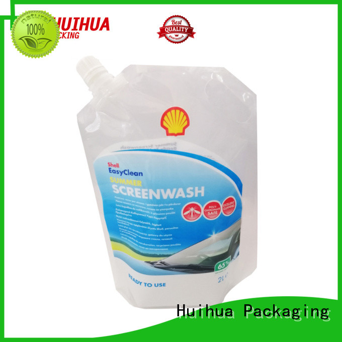 Huihua spout pouch with good price for liquid