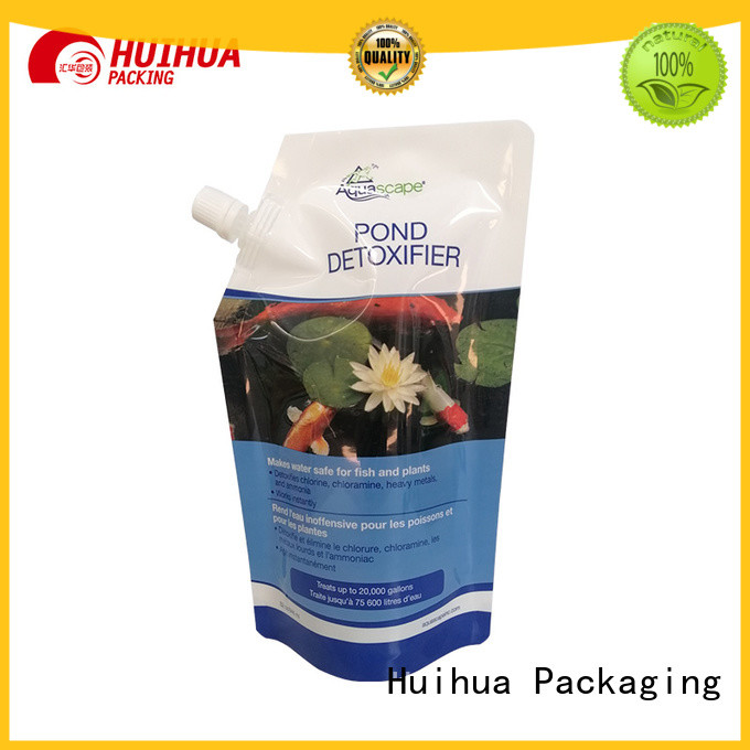 Huihua spout bag with good price for liquid