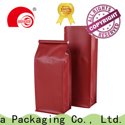 Huihua durable printed coffee bags wholesale for roasted coffee beans