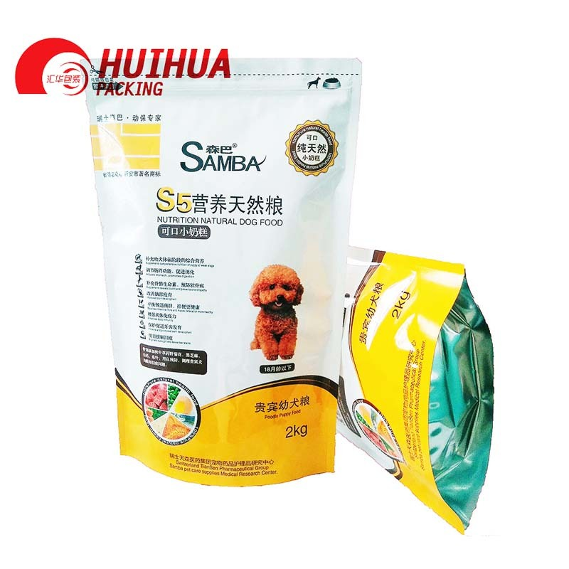 Stand up bag for pet food