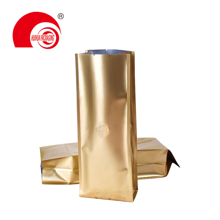 227g side gusset coffee bags with valve in various colors options