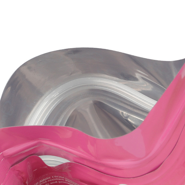 product-Huihua-Custom Printing Slide Mylar Ziplock Bag Child Proof Pouch Child Resistant Exit Bag-im