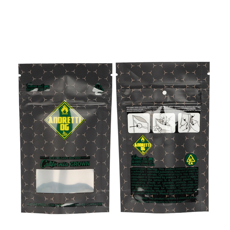 product-Huihua-Custom Printed Aluminum Foil Child Resistant Resealable Mylar Bags Pouch with Child P
