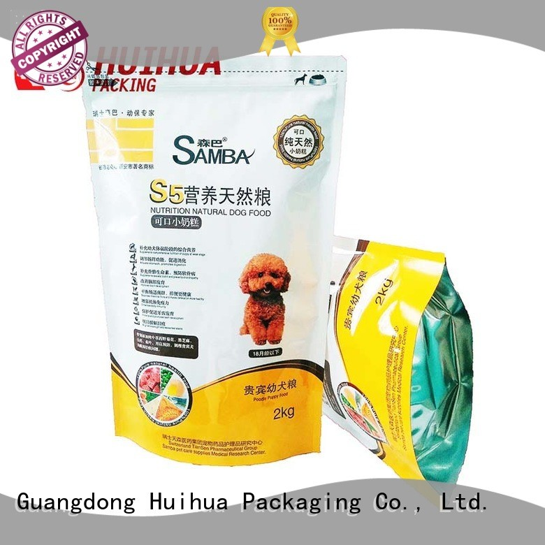 Huihua quality printed packaging bags factory direct supply for cosmetics