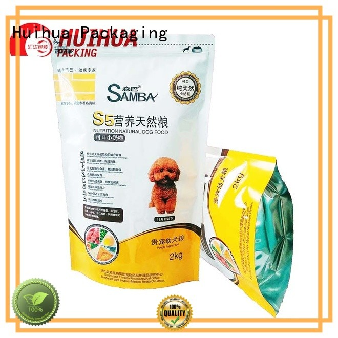 popular printed packaging bags manufacturer for food
