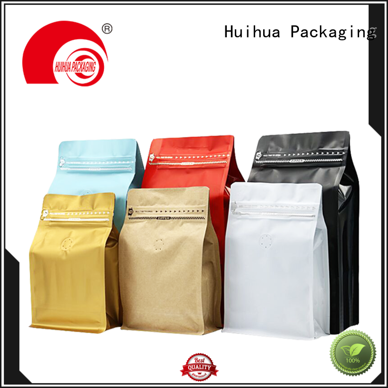 Huihua convenient flat bottom bag supplier for pickle