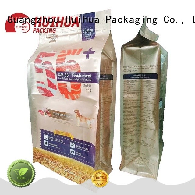 Huihua quality pouch printing wholesale for liquid